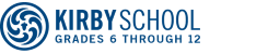Logo and Link to Home Page of Kirby School Virtual BookStore