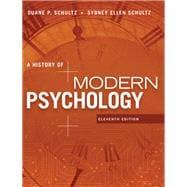 A History of Modern Psychology,Schultz, Duane P.; Schultz,...,9781305630048