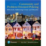 Community and Problem-Oriented Policing Effectively Addressing Crime and Disorder