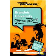 Brandeis University College Prowler Off The Record
