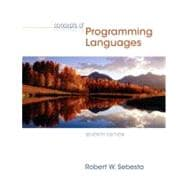 Concepts of Programming Languages,9780321330253