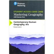 Mastering Geography with Pearson eText -- Standalone Access Card -- for Contemporary Human Geography