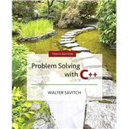 Problem Solving with C++ Plus MyLab Programming with Pearson eText -- Access Card Package