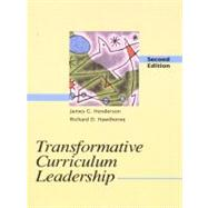 Transformative Curriculum Leadership