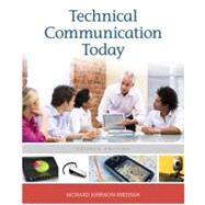 Technical Communication Today,9780205171194