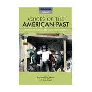 Voices of the American Past, Volume I,9781111341244