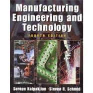 Manufacturing Engineering and Technology,9780201361315