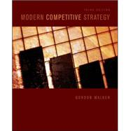 Modern Competitive Strategy,9780073381381