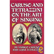 Caruso and Tetrazzini On the Art of Singing by Caruso, Enrico; Tetrazzini, Luisa, 9780486231402