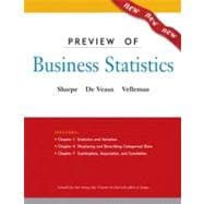 Business Statistics: a First Course Preview