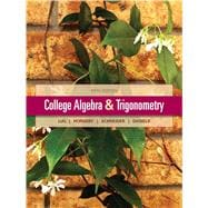 College Algebra and Trigonometry,9780321671783