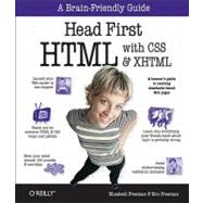 Head First HTML with CSS and XHTML,9780596101978