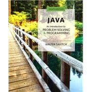 Java An Introduction to Problem Solving and Programming