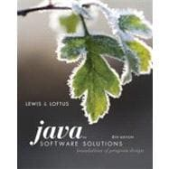 Java Software Solutions : Foundations of Program Design,9780321532053
