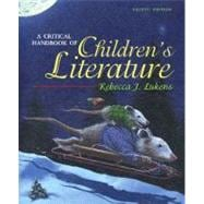 A Critical Handbook of Children's Literature,9780205492183