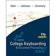 Gregg College Keyboarding & Document Processing (GDP); Lessons 1-120, main text,9780073372198