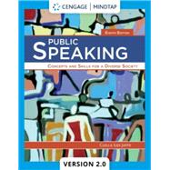 MindTap V2.0 for Jaffe's Public Speaking: Concepts and Skills for a Diverse Society, 8th Edition [Instant Access], 1 term