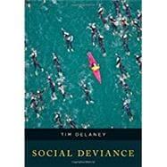 Social Deviance by Delaney, Tim, 9781442252530