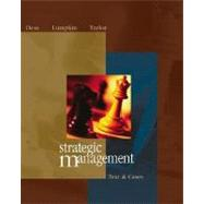 Strategic Management: Text and Cases with PowerWeb and CD,9780072862577