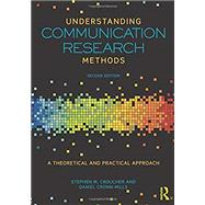 Understanding Communication Research Methods: A Theoretical and Practical Approach by Croucher; Stephen M., 9781138052680