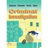 Criminal Investigation, with Student Simulation CD