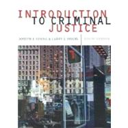 Introduction to Criminal Justice With Infotrac,9780534573058