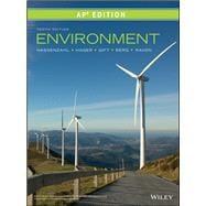 Environment, AP Edition by Peter H. Raven; David M. Hassenzahl; Linda R. Berg, 9781119473107