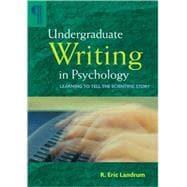 Undergraduate Writing in Psychology