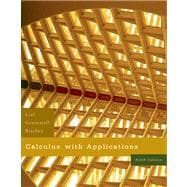 Calculus with Applications Value Pack (includes MathXL 12-month Student Access Kit and Student's Solutions Manual for Calculus with Applications)