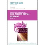 Elsevier Adaptive Quizzing for Modern Dental Assisting Retail Access Card