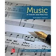 Loose Leaf for Music in Theory and Practice, Volume 1