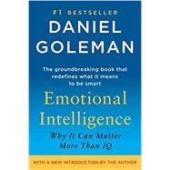 Emotional Intelligence by GOLEMAN, DANIEL, 9780553383713