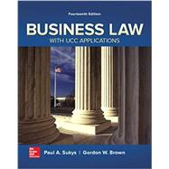 Business Law with UCC Applications by Sukys, Paul; Brown, Gordon, 9780077733735