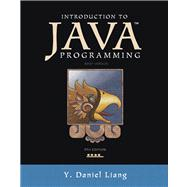Introduction to Java Programming, Brief Version,9780132923736