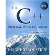 The C++ Programming Language by Stroustrup, Bjarne, 9780321563842
