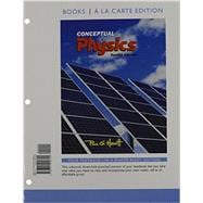 Conceptual Physics, Books a la Carte Edition & Modified Mastering Physics with Pearson eText -- ValuePack Access Card -- for Conceptual Physics Package by Hewitt, Paul G., 9780133913965