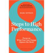 8 Steps to High Performance by Effron, Marc, 9781633693975