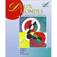 Deux mondes: A Communicative Approach (Student Edition) + Listening Comprehension Audio CD,9780072434002