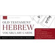 Old Testament Hebrew Vocabulary Cards by Van Pelt, Miles V.; Pratico, Gary D., 9780310534181