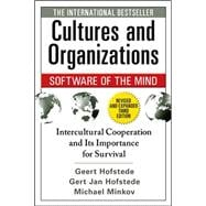 Cultures and Organizations: Software of the Mind, Third Edition,9780071664189