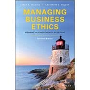 Managing Business Ethics by Trevino, Linda Klebe; Nelson, Katherine A., 9781119194309