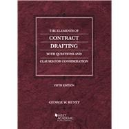 The Elements of Contract Drafting by Kuney, George W., 9781684674565