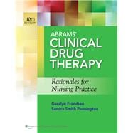 Abrams' Clinical Drug Therapy + Lippincott's Photo Atlas of Medication Administration + Lippincott Coursepoint Access Code