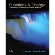 Functions and Change A Modeling Approach to College Algebra