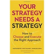 Your Strategy Needs a Strategy by Reeves, Martin; Haanaes, Knut; Sinha, Janmejaya, 9781625275868