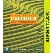 Calculus Early Transcendentals and MyLab Math with Pearson eText -- 24-Month Access Card Package