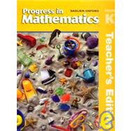 Progress in Mathematics, Grade K