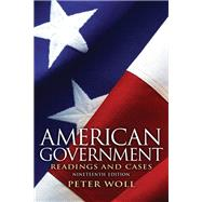 American Government : Readings and Cases,9780205116140