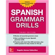 Spanish Grammar Drills, Third Edition by Vallecillos, Rogelio, 9781260116236