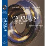 Calculus: Early Transcendental Functions,9780618606245